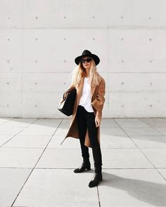 """THE CURATED on Instagram: """"Minimalism at its best with @mija_mija in our classic camel coat 👌🏻 #thecurated #curatedcommunity"""""""