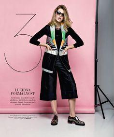 Harper's BAZAAR Serbia March 2016 Fashion editorial. Fashion editor and stylist: Ana Stefanovic, Photo: Milos Nadazdin Model: Valerija Sestic