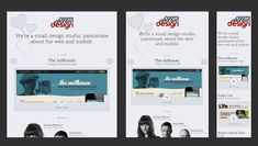 Great design work. Good examples for responsive design layouts.