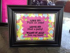One of the display pieces I created for my Thirty-One business! Www.mythirtyone.com/kstricklin