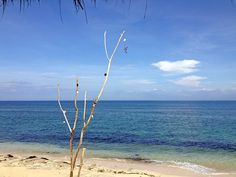 Serenity. The quite beach of Bingin with clear sea and the blue sky. Photo by Electra Gillies.