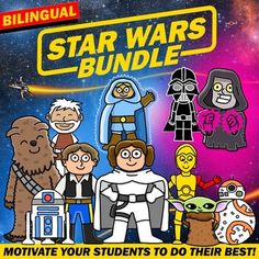 Star Wars - The Bundle - BILINGUAL by Spanish Teacher | TpT
