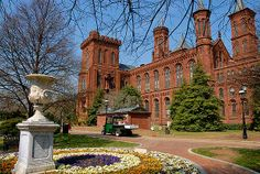 Washington, D.C.: The Smithsonian Castle is just one of 19 buildings, musuems and galleries in this national treasure, the world's largest musuem. You need a week to visit it all!!