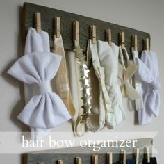 Live a Little Wilder: diy headband organization