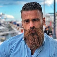 Follow us and check out our BIO to be featured… Epic Beard, Sexy Beard, Beard No Mustache, Great Beards, Awesome Beards, Beard Styles For Men, Hair And Beard Styles, Beards, Hair