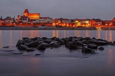 Torun by night (Poland)