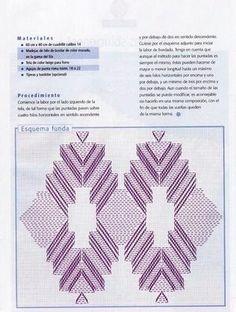 REGINA RECEITAS DE CROCHE E AFINS: graficos para trabalhos em vagonite.