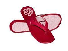 Nike Tiki Thong Womens Flip-Flops Cardinal Red / Pink Ice