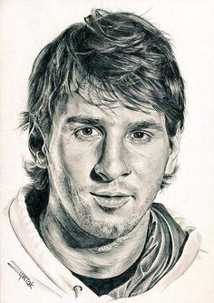 Portrait Sketches, Pencil Portrait, Lionel Messi Family, Antonella Roccuzzo, Lionel Messi Wallpapers, Argentina National Team, Face Sketch, Celebrity Drawings, Portraits