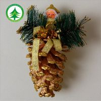 2016 Hot Vianočný strom dekorácie, ozdoby echinacea, nový rok dekorácie