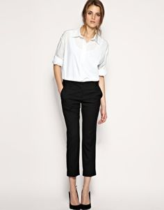 For work! Enlarge ASOS Tailored Slim Cropped Pant