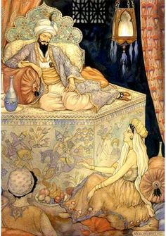Anton Pieck Arabian nights