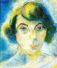 Self portrait (1922) - Oil on canvas - Anita Malfatti (1889-1964)