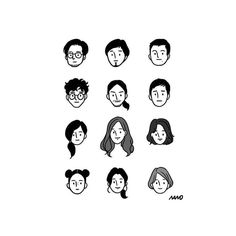 Simple Illustration, Character Illustration, Digital Illustration, Graphic Illustration, Doodle People, Arte Indie, Pretty Drawings, Aesthetic Art, Doodle Art