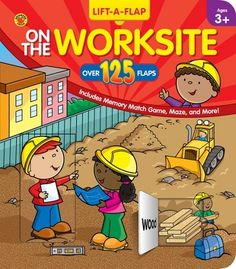 On the Worksite Pop-Up Book - Carson Dellosa Publishing Education Supplies
