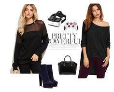 """""""Women's fashion"""" by room140701 ❤ liked on Polyvore featuring Casadei and Givenchy"""