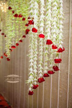 69 ideas for book decor wedding beautiful Wedding Hall Decorations, Backdrop Decorations, Diwali Decorations, Garland Wedding, Festival Decorations, Decor Wedding, Backdrops, Wedding Mandap, Wedding Bed