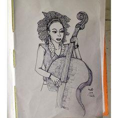 Faça seu ritmo 149/365 #365 #sketchbook #sketch #doodle #desenho #dibujo #drawing #caneta