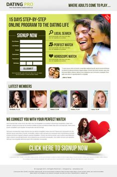 Top 10 dating landing page design best practices to capture leads | Web Design & Landing Page Design Blog