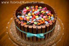 kit kat candy cake...a diabetic nightmare on steroids.