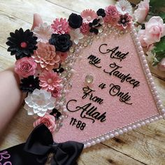 Graduation Cap Toppers, Forever Love, Paper Roses, Etsy Shop, Pink, Instagram, Rose, Paper Rosettes