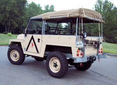 1973 Land Rover Series III Air Portable Lightweight For Sale Rear