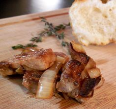 Garlic pork is a Guyanese favourite at Christmas time …