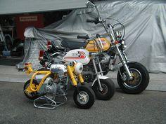イメージ 1 Tracker Motorcycle, Motorcycle Wheels, Car Wheels, Honda Motorbikes, Honda Motorcycles, Custom Mini Bike, Custom Bikes, Mini Motorbike, Bike Pic