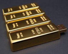 Gold Brick USB Drive – $20