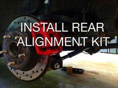 Install 3-Arm Camber Kit Kit (J-Power / SPC Alignment Kit)
