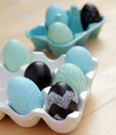 Ideias diferentes para usar ovos na decoração de Páscoa!   #craft #tips #cute #artesanato