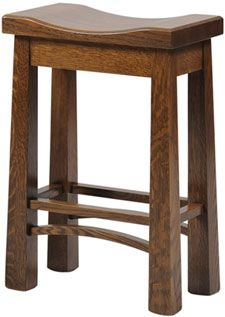 Amish Outlet Store : Bradly Barstool in Oak