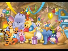 "Winnie the Pooh and Friends - ""Surprise!"" birthday party, cartoon winnie-pooh-other."