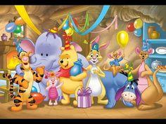 "Winnie the Pooh and Friends - ""Surprise!"" birthday party, cartoon winnie-pooh-other. Disney Winnie The Pooh, Winnie The Pooh Pictures, Tigger And Pooh, Winne The Pooh, Winnie The Pooh Birthday, Winnie The Pooh Quotes, Winnie The Pooh Friends, Baby Disney, Eeyore Pictures"