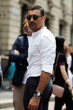 Damn! Those Italian men are SOOOOO sexy!!!/On the Street….Piazza Oberdan, Milan
