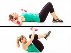Lose Those Batwings! 5 Moves, 5 Weeks to Killer Arms and Shoulders Jessica Smith, Push Up Workout, Triceps Workout, Fitness Design, Shoulder Workout, Sweat It Out, Get In Shape, Lose Belly, Excercise