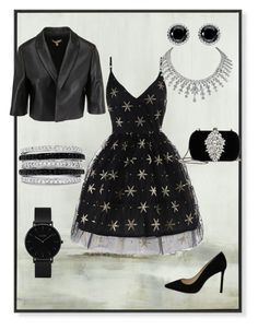 """""""Event style"""" by obretin-raluca on Polyvore featuring Badgley Mischka, Effy Jewelry, Thomas Sabo, CLUSE and Jimmy Choo"""