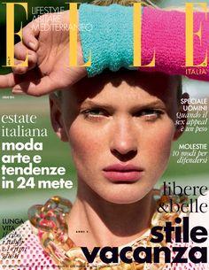 Anne Vyalitsyna by Matt Jones for Elle Italia July 2015