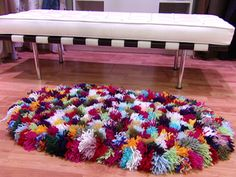 1000 images about alfombras reciclaje on pinterest tela for Utilisima decoracion