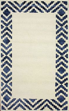 nuLOOM Navy Bella | Contemporary Rugs