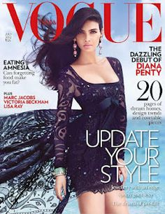 Diana Penty's Vogue Magazine India July 2012 Pictures. | Bollywood Cleavage