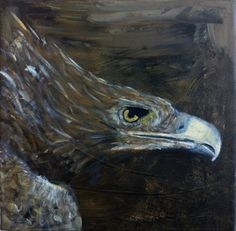 Eagle by Lucy. Painting artist at Art Studio Eduard Moes
