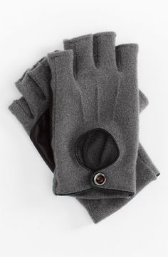 cute fingerless driving gloves