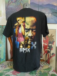 Old School 90's Vintage DMX Promo Concert T Shirt XL Ruff Ryders UP IN HERE!!!!! | eBay