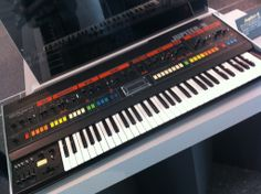 The Jupiter-8 was Roland's first professional analogue synth and it featured 16 rich analogue oscillators (2 per voice). It had 8 note polyphony and plenty of hands-on controls! The Jupiter-8 had a unique voice architecture and two amazing resonant analogue filters, which meant that it was capable of creating sounds that were completely unique and iconic! #roland #rolandjupiter #jupiter8 #synth #analoguesynth Roland Jupiter, Analog Synth, Recording Equipment, Piano, Signal Processing, Drum Machine, Camera Phone, Music Stuff, Music Instruments