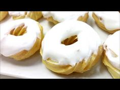 Cheesecakes, Pasta Choux, Doughnut, Bakery, Chocolate, Youtube, Spanish, Food, Donut Hole Recipe