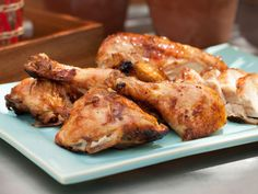 Sweet Glazed Butterflied Grilled Chicken Recipe : Sunny Anderson : Food Network - FoodNetwork.com
