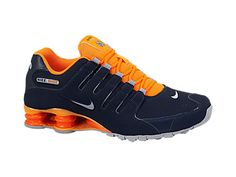 Nike Shox Nz Mens Orange
