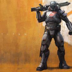Titan - Destiny Game Wallpaper