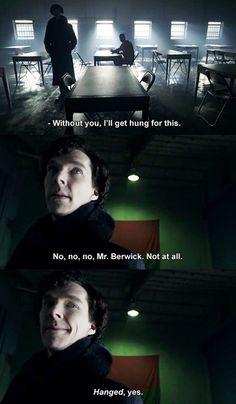 Sherlock Holmes, consulting detective for the Grammar Police. Thank you, Sherlock. Sherlock Holmes, Sherlock Fandom, Funny Sherlock, Sherlock Quotes, Martin Freeman, Johnlock, Detective, Fangirl, Rupert Graves